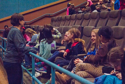 Elementary aged students from all over the Madison area attended the 2018 Big Screens, Little Folks program. A day out at the movies made for a great field trip!