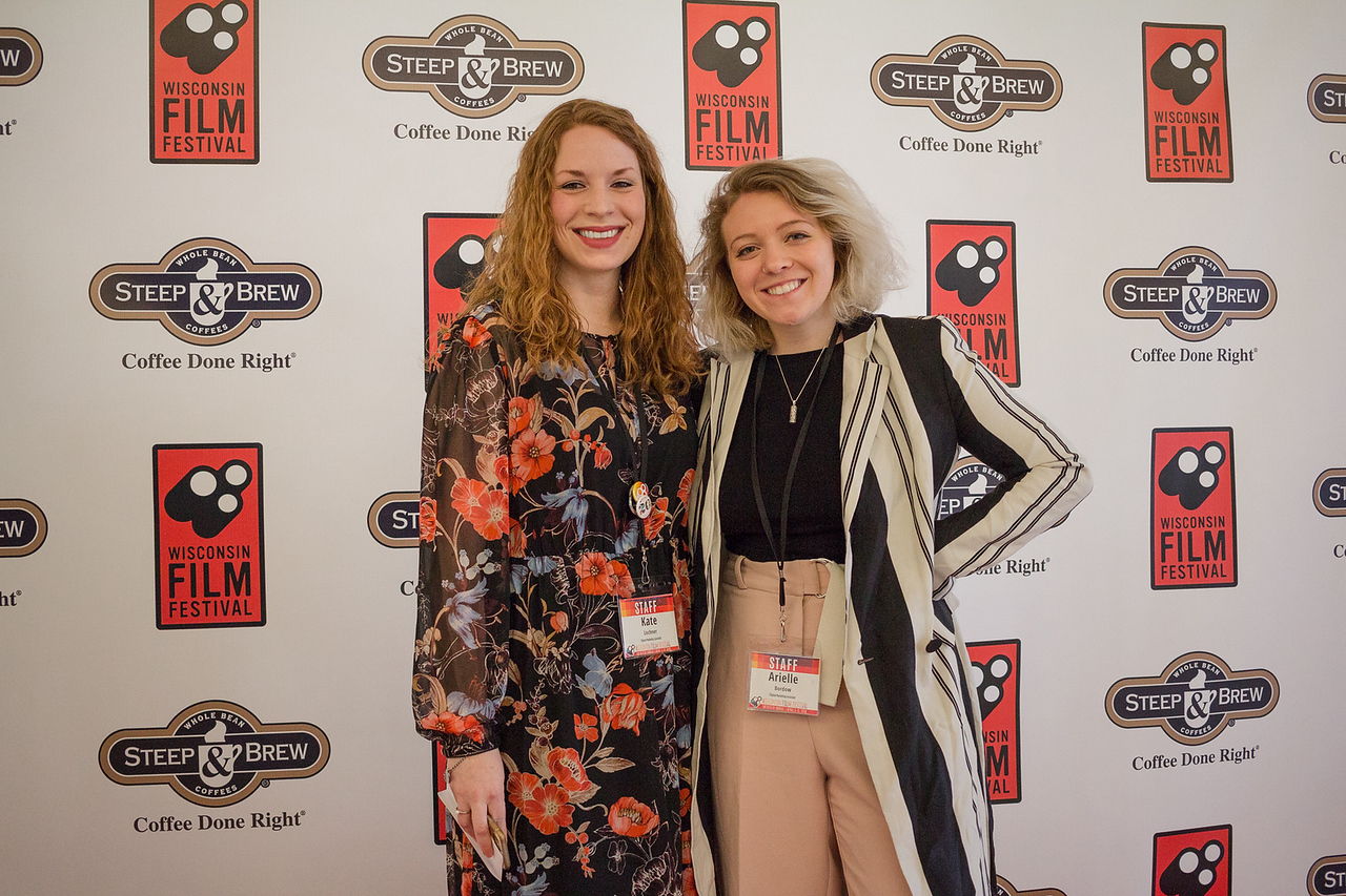 Digital Marketing Specialist Kate Lochner (l) and Digital Marketing Assistant Arielle Bordow.