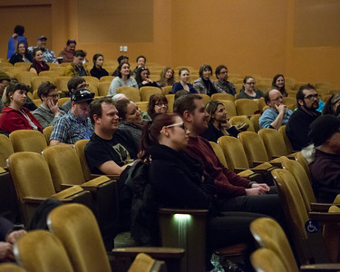 Patrons attend SUPPORT THE GIRLS, and participate in a question and answer session with writer/director Andrew Bujalski and WFF Senior Film Programmer Mike King.