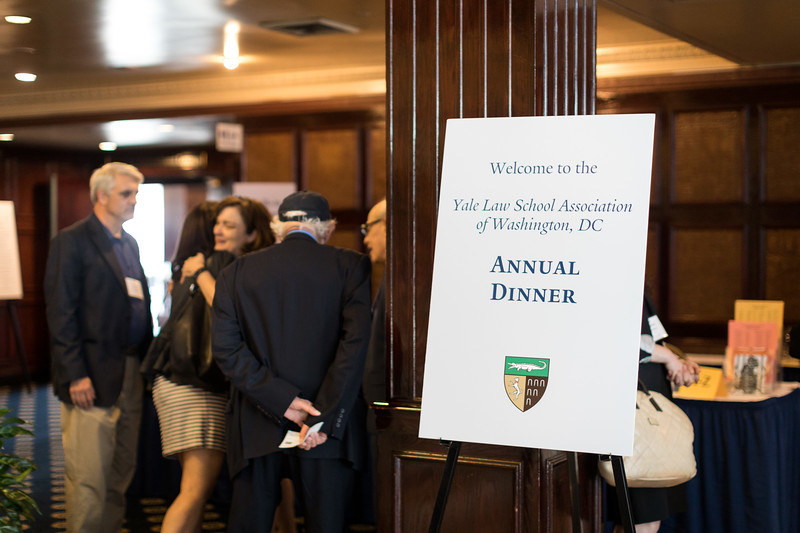 The annual Yale Law School Alumni Dinner at the National Press Club in Washington, DC June 14, 2018.