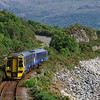 158722 at Kyle of Lochalsh working the 17:13 to Inverness 09/06/18