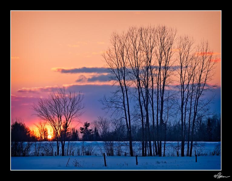 Mois 2 - Lever ou coucher de soleil 1 de 5