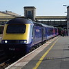 43053+43160 at Exeter St Davids working the 15:42 Plymouth - London Paddington 02/09/18