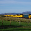 37610+37219 north of Tain working the 10:00 Inverness Milburn Road - Thurso - Wick - Inverness Milburn Yard 28/10/18