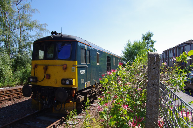 73969 stabled at Dingwall 30/06/18