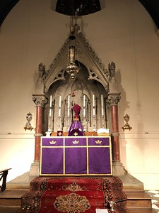 High Altar, Passion Sunday