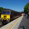 57316 at Windermere at the head of the 11:30 to Oxenholme 29/06/18