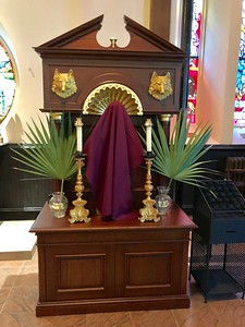 St Francis, Palm Sunday