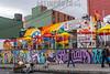 Colombia : Arte urbano Bogotá © Garzón Herazo