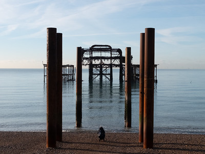 Photographing the West Pier