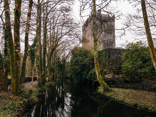 Aughnanure Castle in Galway.