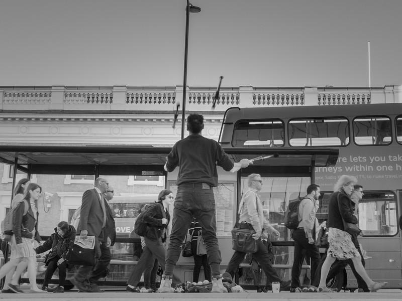 The London Bridge Juggler
