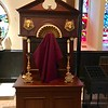 Shrine of St Francis in Passiontide