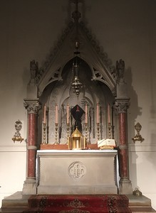 High Altar, Good Friday