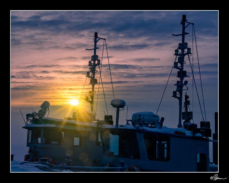 Mois 2 - Lever ou coucher de soleil 2 de 5