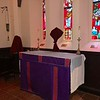 St Michael Altar & Shrine, Passiontide