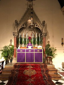 High Altar, Palm Sunday