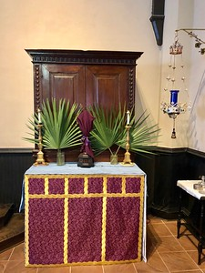 All Saints Altar, Palm Sunday