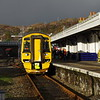 158725 arrives at Kyle of Lochalsh working the 11:00 from Inverness 20/01/18