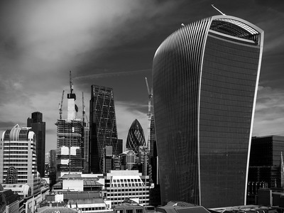Walkie Talkie, Gherkin and Cheese Grater