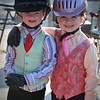 Leadline cuties, Isabella and Peyton.  10/6/2018