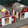 A few of the handcrafted barns.  7/13/2018