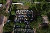 Bolivia : Vista aérea de un cementerio en la ciudad de Yacuiba en el sur de Bolivia / Aerial view of a cemetery in the city of Yacuiba in Southern Bolivia / Bolivien : Luftaufnahme eines Friedhofs in der Stadt Yacuiba im Süden Boliviens © Patricio Crooker/LATINPHOTO.org