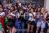 Argentina : #8m paro internacional de mujeres buenos aires 2018 - movilización del 8M por el Día de la Mujer - Día Internacional de la Mujer 2018 / International Women's Day celebrations in Buenos Aires / Argentinien : Kundgebung am internationalen Tag der Frau am 8. März 2018 in Buenos Aires - Frauenband miit Posaune, Trompete und Saxophon © Santiago Debenedetti/LATINPHOTO.org