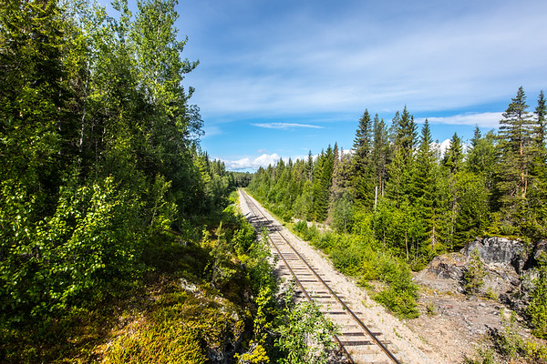 The railroad, road to somewhere