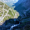 Trollstigen from above