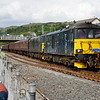 73967+73966 at jourenys end Kyle of Lochalsh working the SRPS Railtours 05:00 Paisley Gilmore St - Kyle of Lochalsh 09/06/18