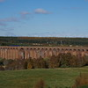 170420 crosses Culloden viaduct working the 10:36 Edinburgh - Inverness 29/10/18