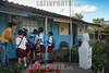 Cuba : Escuela rural Alex Urquiola M II Frente , Santiago de Cuba - 11 de Enero  de 2017 / Primary school Alex Urquiola M II Frente in Santiago de Cuba / Kuba : Primarschule Alex Urquiola M II Frente in Santiago de Cuba - Lehrerin - Schüler © Agustín Borrego Torres/LATINPHOTO.org