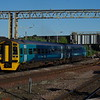 158827 departs Chester working the 06:54 Crewe - Holyhead 29/06/18