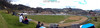 Ecuador : Partido de futbol por el campeonato regional en el pequeño pueblo de Saraguro en la provincia de Loja - La cancha esta sobre el famoso Troncal de la Sierra / Ecuador : Football match for the regional championship in the small village of Saraguro in the province of Loja - The court is on the famous Troncal de la Sierra / Football match of the regional championship in Saraguro in the province of Loja / Ekuador : Fussballspiel der Regionalmeisterschaft in Saraguro in der Provinz Loja © Henry von Wartenberg/LATINPHOTO.org