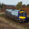 170420 south of Culloden working the 14:47 Inverness - Glasgow Queen St 29/10/18