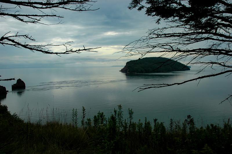 Five Islands Provincial Park, near high tide