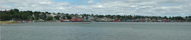Lunenburg harbour panorama
