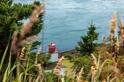 Cape D'Or lighthouse at the end of the Minas basin