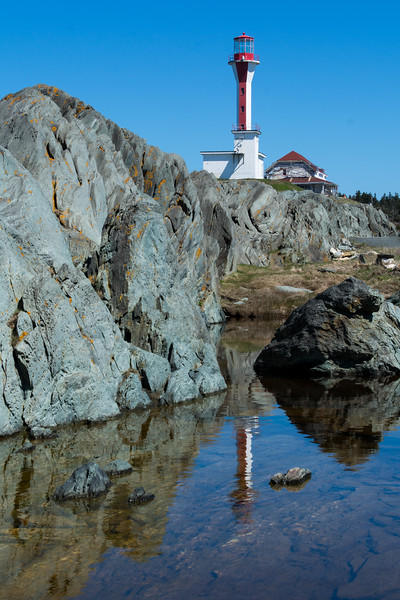 Cape Forchu lighthouse, Yarmouth, NS.