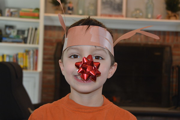 2018_01_01_Boys Reindeer Performance at Home