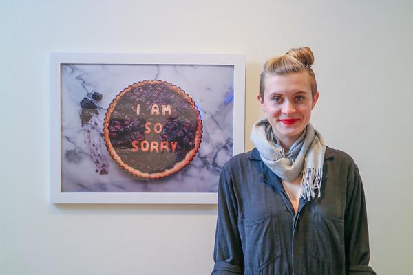 2018.01.08 Swartley Gallery Isabella Giancarlo '10