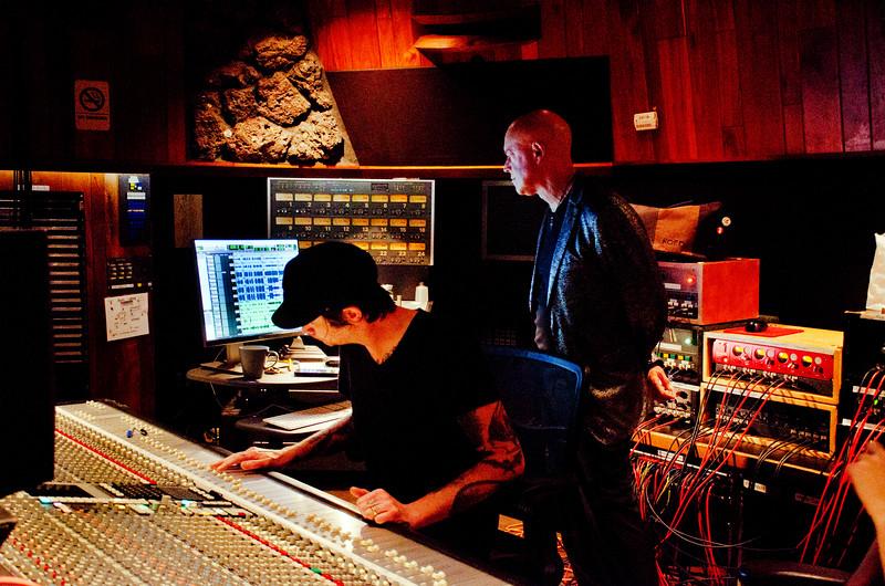 Freddy Clarke and Wobbly World at Fantasy Recording Studios