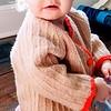Sweater made by Great Grandma Gert (Worn by Jen, Zora, Rachel and Juniper