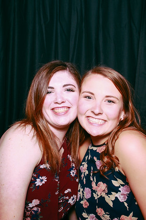 Swell Booth Photo Booth Co. for Virginia Tech's Gamma Phi Beta sorority event at Big Al's in downtown Blacksburg on Saturday, April 21, 2018.