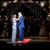 """Plano High School's 2017 prom king and queen, Mauricio Perez and Lizbeth Valles, closed out their reign at the prom walk on Friday, by dancing together to the 2017 prom song, """"You and Me"""" by Lifehouse. Perez embraced the spirit of the evening by coordinating his shoes and bow tie with Valles' sparkling silver dress."""