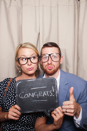 Swell Booth Photo Booth Co. for Hannah and Joseph's wedding at Crosskeys Vineyard in Mt. Crawford, VA on Saturday, June 16, 2018.