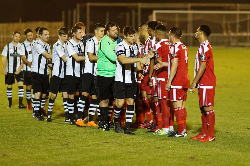 FA Trophy Felixstowe & Walton Utd v Grays Athletic