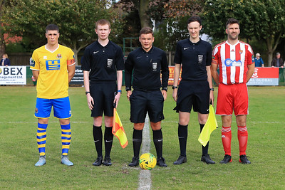 Istthmian Bostik  North League Felixstowe & Walton Utd v Sudbury