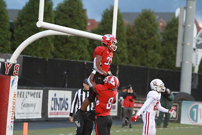 YSU Football - Tevin McCaster and Samuel St. Surin